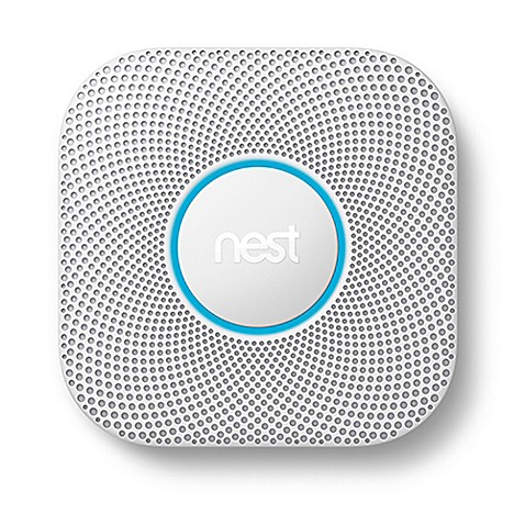 nest protect second generation wired smoke and carbon monoxide alarm bed bath beyond. Black Bedroom Furniture Sets. Home Design Ideas