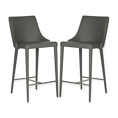 Buy Safavieh Summerset Counter Stool In Grey From Bed Bath