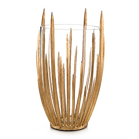 John-Richard 19-Inch Starstruck Vase in Gold | Tuggl