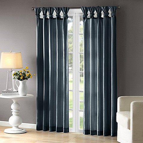 madison park emilia room darkening tab top window curtain panel in teal bed bath beyond. Black Bedroom Furniture Sets. Home Design Ideas