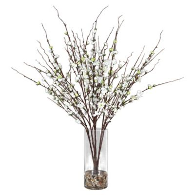 Uttermost Quince Blossoms Silk Cent