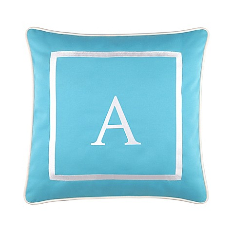 17-Inch Outdoor Pillow in Ocean at Bed Bath & Beyond in Cypress, TX | Tuggl
