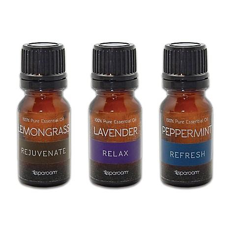 SpaRoom® 3-Pack Essential Oils | Tuggl