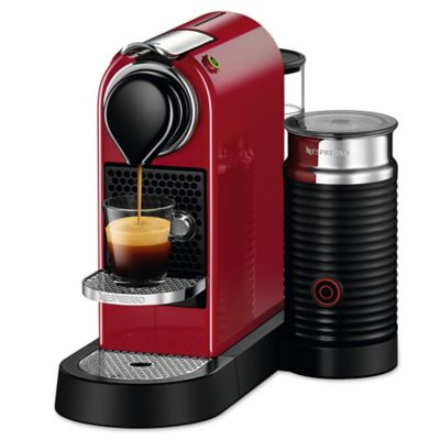 Nespresso Coffee Maker Bed Bath And Beyond : Nespresso Citiz Espresso Maker with Aeroccino3 Milk Frother - Bed Bath & Beyond