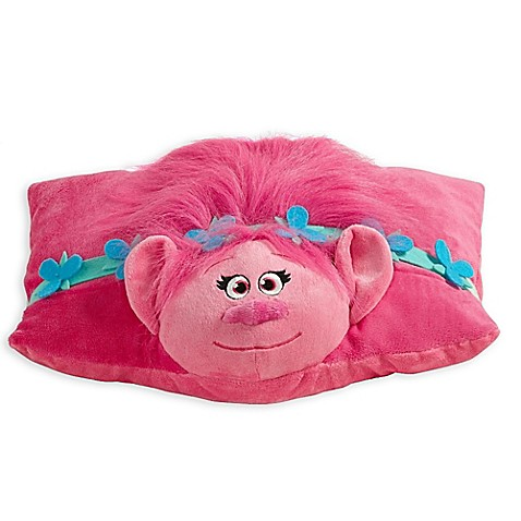pillow pets dreamworks trolls poppy folding pillow pet buybuy baby. Black Bedroom Furniture Sets. Home Design Ideas