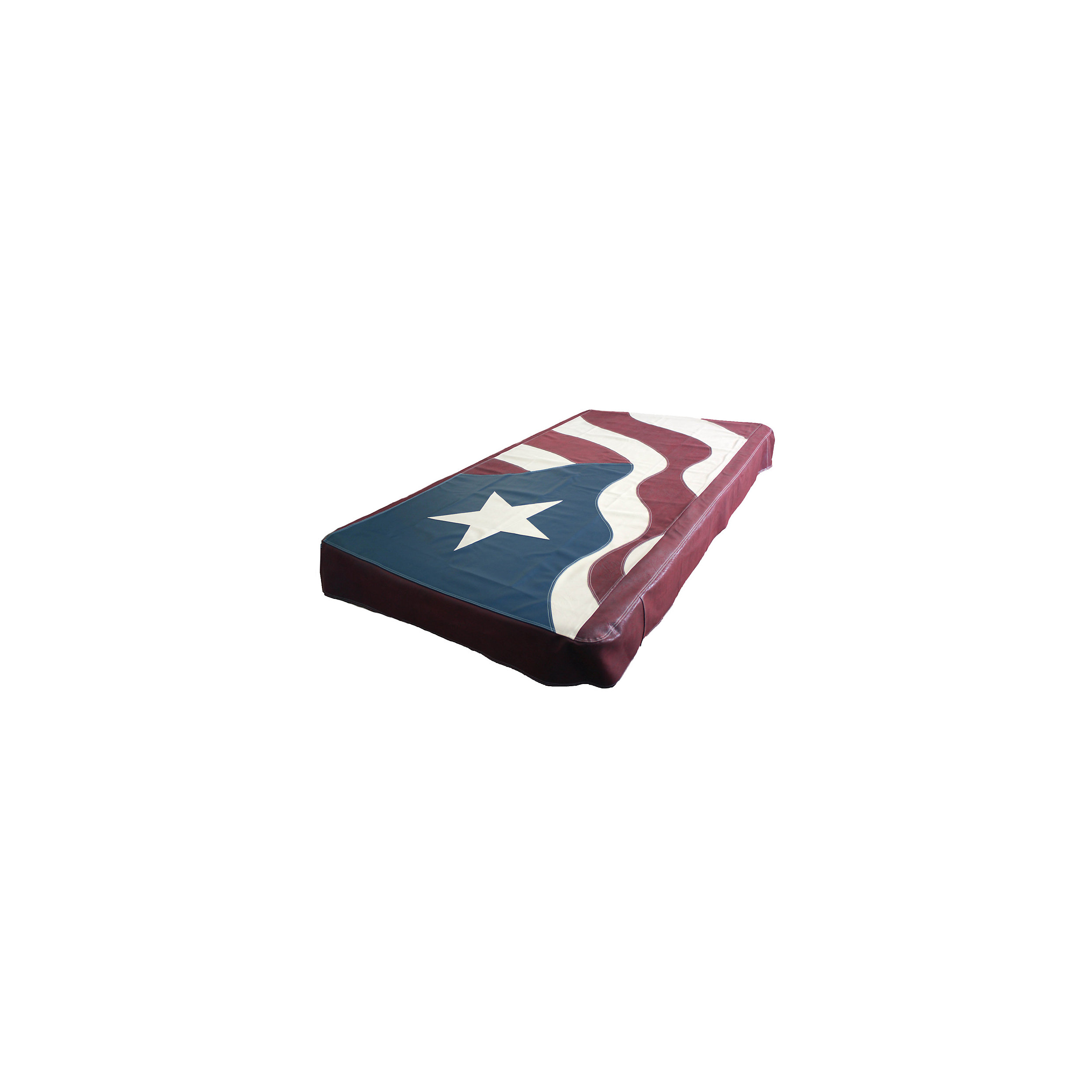 American Flag Pool Table Cover