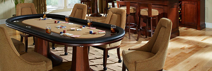 Poker Tables And Chairs
