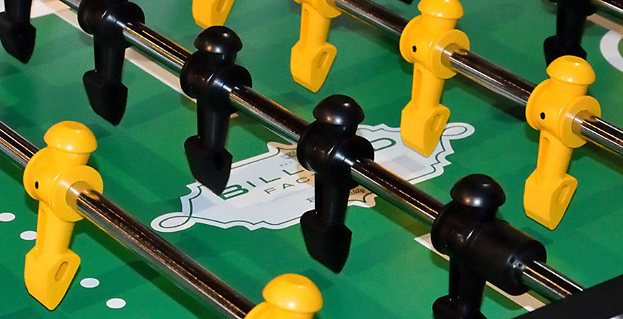 Thereu0027s No Need To Keep The Competition To Games At The Bar. With One Of  Billiard Factoryu0027s Foosball Tables For Sale, You Can Bring All Of The  Action Into ...