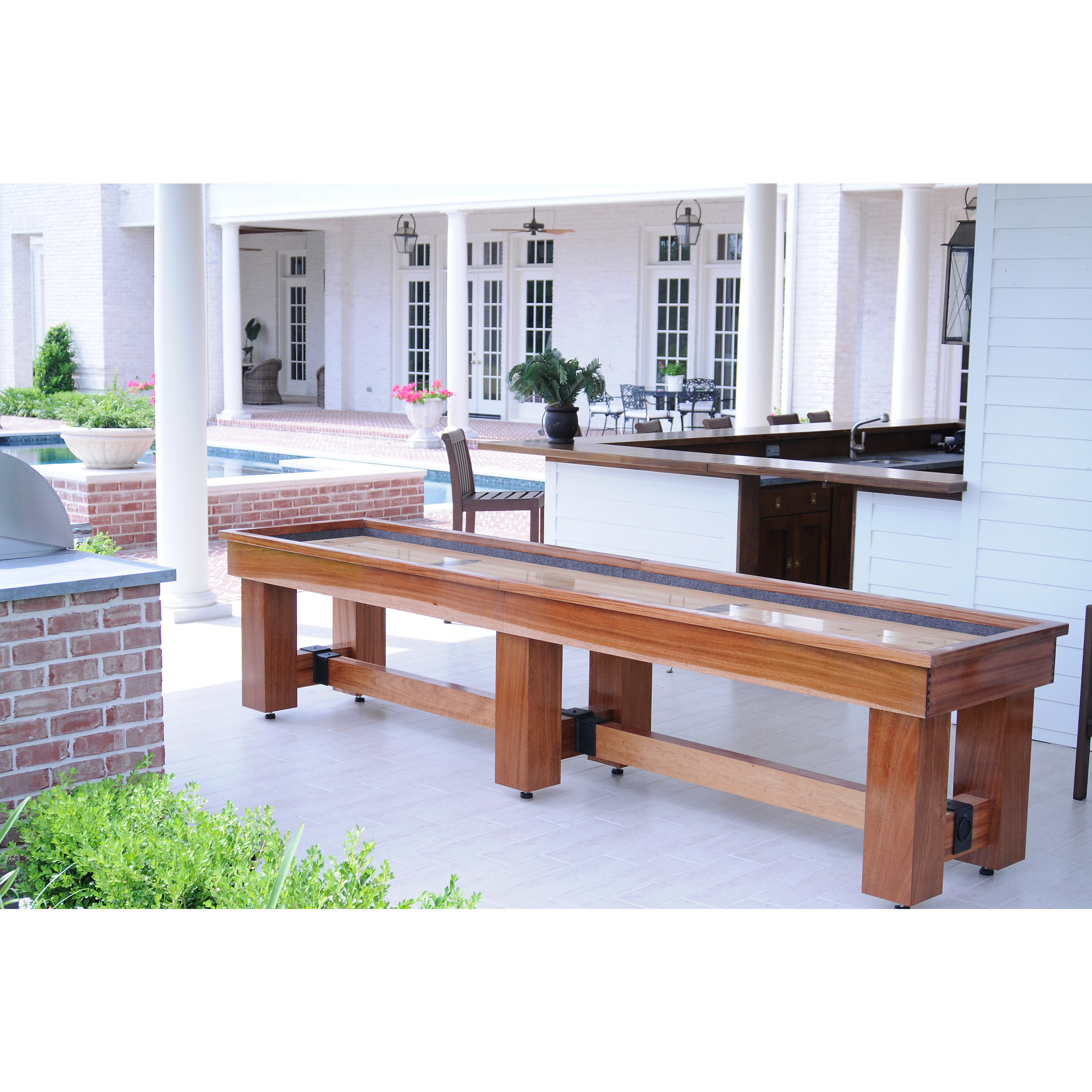 order custom by made theindustrialfarmhouse a shuffleboard from the table buy to rustic handmade