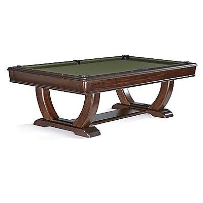 De Soto Modern Pool Table In Espresso Finish