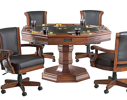Poker Tables for Sale | Game Tables and Chairs | Billiards Factory