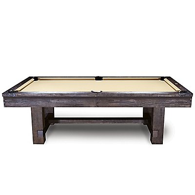 Reno Pool Table In Weathered Dark Chestnut