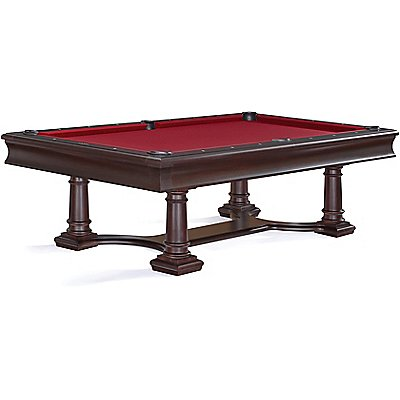 lexington traditional pool table in plum finish