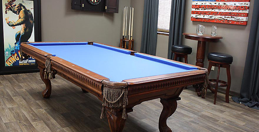 Begin your entertainment collection with our billiard pool tables for sale. Billiard Factory\u0027s packages appoint your space with a stately billiards table ... & Pool Table Set | Pool Table Package | Bar Pool Tables