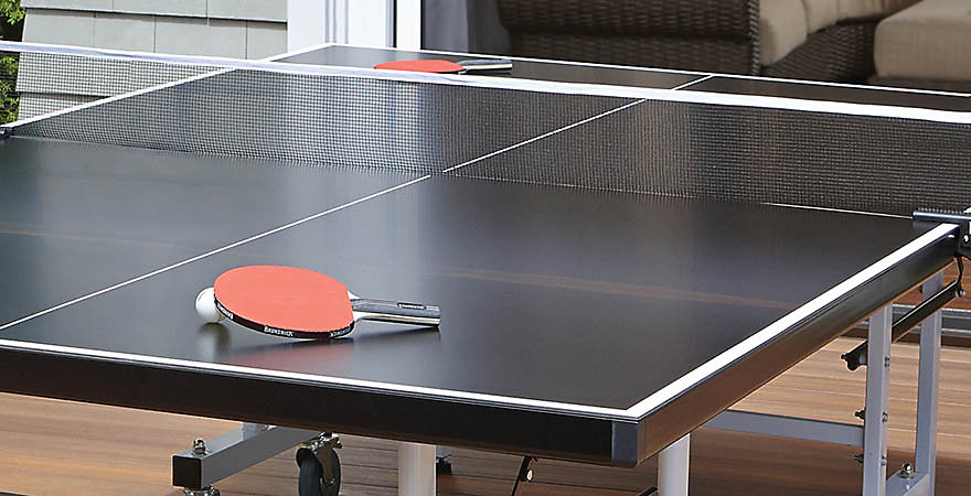 Ping pong tables for sale table tennis for sale - Space needed for a ping pong table ...