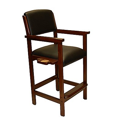 St. Paul Spectator Chair Suede Finish