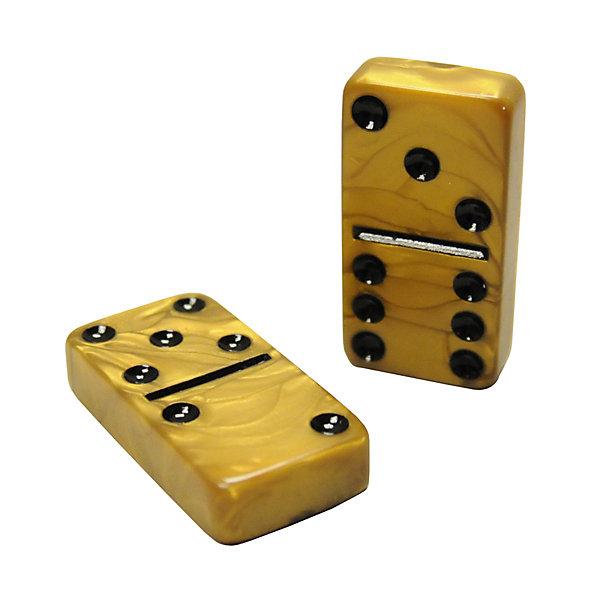 Gold Dominoes Double Six Dominoes Set Billiard Factory