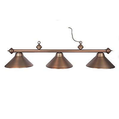 Metal Shade Pool Table Light Oil Rubbed Bronze