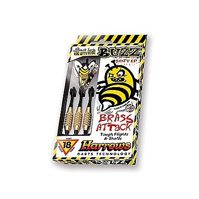 Buzz Soft Tip Darts Brass