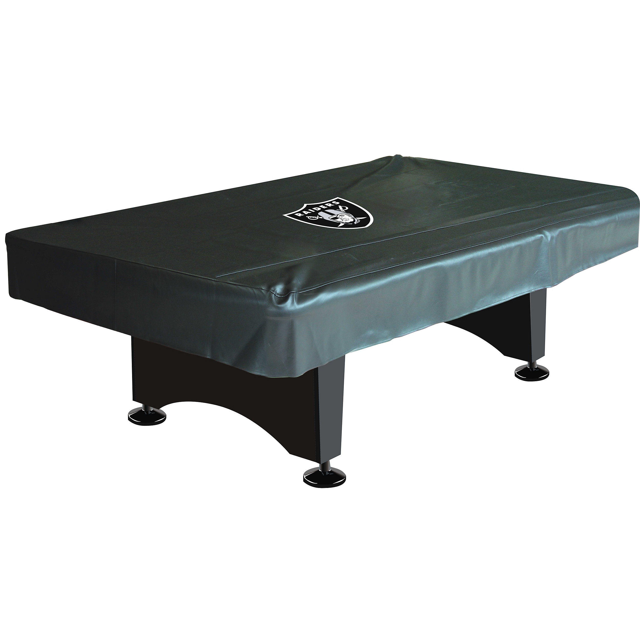 Oakland Raiders Deluxe Ft Pool Table Cover - Raiders pool table