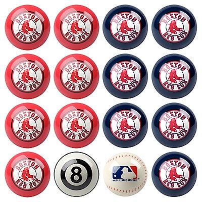 Boston Red Sox Pool Ball Set