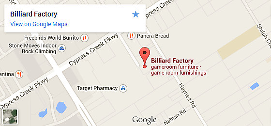 Billiard Factory Houston - Champions