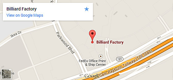 Billiard Factory Dallas - Frisco