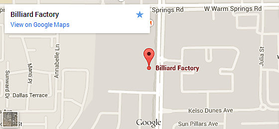 Billiard Factory Las Vegas - Henderson