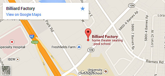 Billiard Factory Florida - Jacksonville