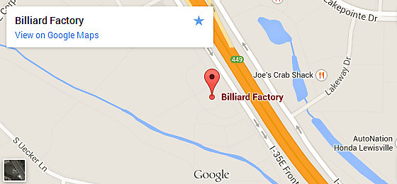 Billiard Factory Dallas - Lewisville