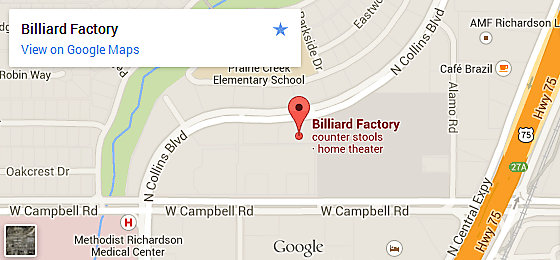 Billiard Factory Dallas - Richardson
