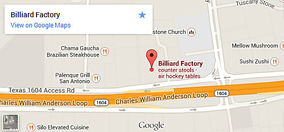 Billiard Factory San Antonio
