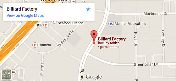 Billiard Factory Houston - Stafford