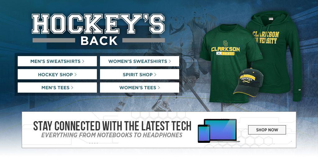 Hockey's Back. Men's Tees, Shop Now. Women's Tees, Shop Now. Men's Sweats, Shop Now. Women's Sweats, Shop Now.  Hockey Shop. Shop Now. Spirit Shop. Shop Now. Jerseys, Shop Now. Auto Accessories, Shop Now.