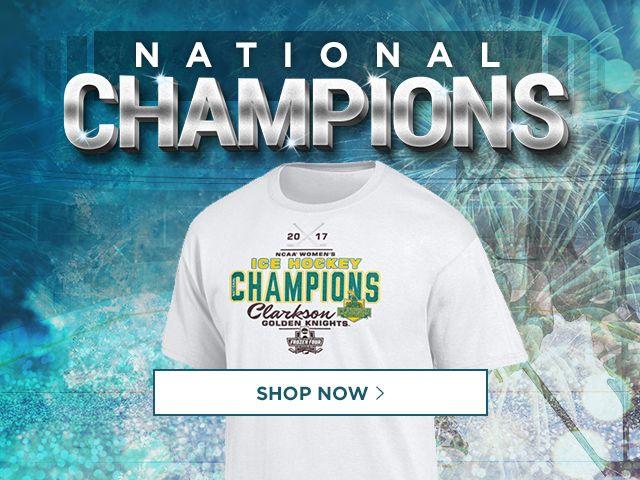 National Champions. Shop Hockey