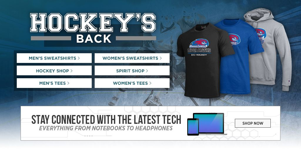 Check out the Mac, iPad, and more. Take It To The Court. Men's Tees, Shop Now. Women's Tees, Shop Now. Men's Sweats, Shop Now. Women's Sweats, Shop Now.  Hockey Shop. Shop Now. Spirit Shop. Shop Now. Jerseys, Shop Now.