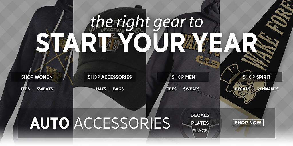 Get back to school essentials. Shop Women Tees and Sweats. Shop Accessories Hats and Bags. Shop Men Tees and Sweats. Shop Spirit Decals and Pennants. Shop Auto Accessories.