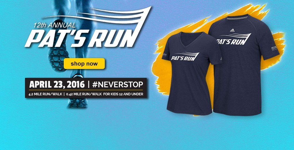 2016 Pat's Run Gear. Shop Now.