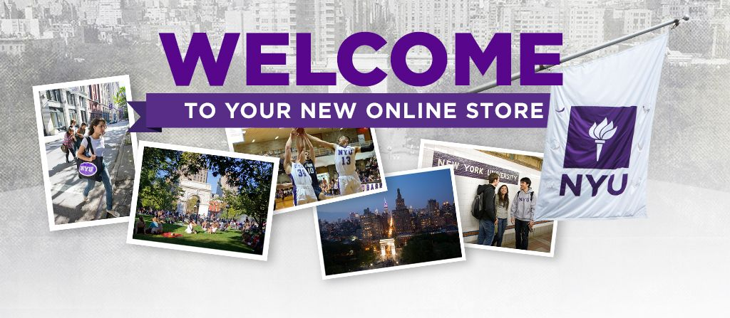 Welcome to your new NYU online store.