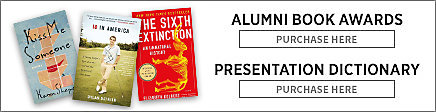 Williams College Alumni Book Awards. Purchase here. Presentation Dictionary. Purchase here.