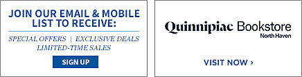 Join our email and mobile list to receive: special offers, exclusive deals, limited time sales. Sign Up. Quinnipiac University North Haven Bookstore. Visit Now.