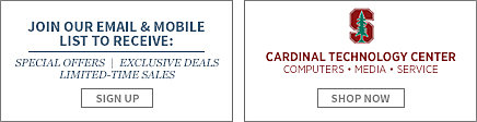 Join our email and mobile list to receive: special offers, exclusive deals, limited-time sales. Sign up.Cardinal Technology Center.Computers, Media, Service. Shop now.