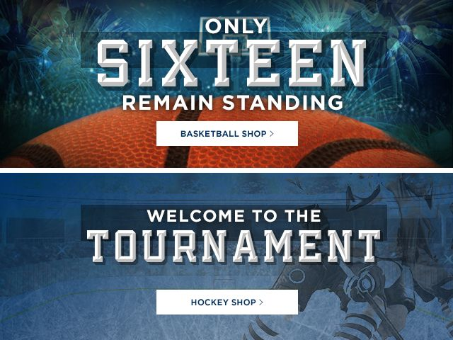 Take it to the court. Shop basketball. Hockey's back. Shop Hockey