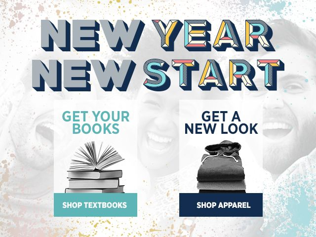 New Year, New Start. Get Your Books. Get a New Look.