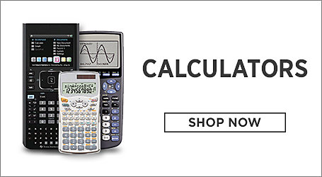Calculators. Shop Now.