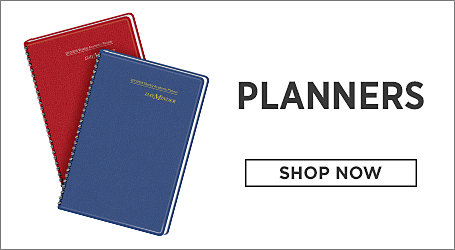 Planners. Shop Now.