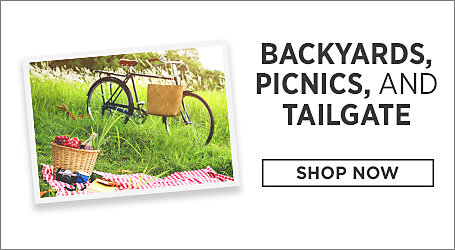 Backyards, Picnics, and Tailgate. Shop Now.
