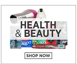 Health & Beauty. Shop Now.