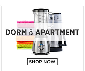 Dorm and Apartment. Shop Now.