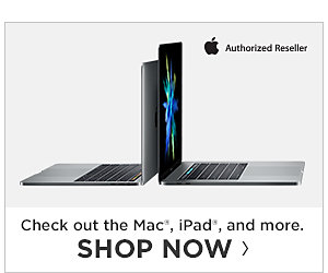 Check out the Mac, iPad, and more. Shop Now.